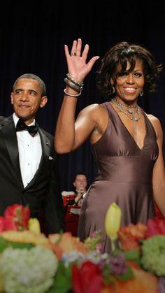 Michelle Obama's best White House Correspondents' Dinner looks