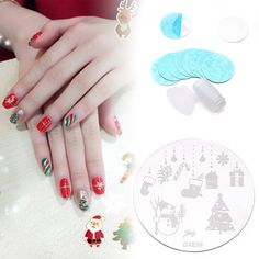 Hot Ten Set Nail Art Image Stamping Manicure Template Polish Print Plate
