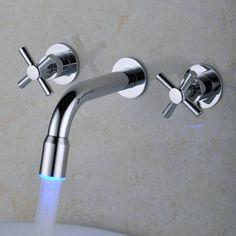 cambio de color cascada llevó generalizada baño grifo del fregadero (montaje en pared) http://www.grifoso.com/cambio-de-color-cascada-llev%C3%B3-generalizada-ba%C3%B1o-grifo-del-fregadero-montaje-en-pared-p-52.html