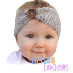 Cute as a Button Knitted Headband – Little Lockers