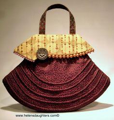 Cool boo Make A Handbag A Day Challenge - Design #2  Follow at www.facebook.com/helensdaughtershandbags