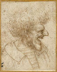 Leonardo da Vinci   Italian, Milan, about 1495   Pen and brown ink