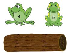 "Fingerplay, ""Five Green & Speckled Frogs"" (free; from Kindergarten Nana)"