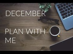 December Plan With Me - Hipster Christmas style - ring planner - YouTube