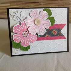 Stampin Up Twitterpated + Mixed Bunch