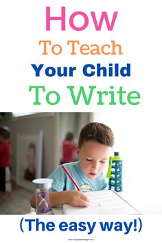 Have a reluctant writer? Here's some easy ways to teach your child to write! Let's do this the fun way! Preschool Learning Activities, Preschool Worksheets, Indoor Activities, Preschool Activities, Pre Writing, Kids Writing, Writing Skills, Best Toddler Toys, Book Suggestions