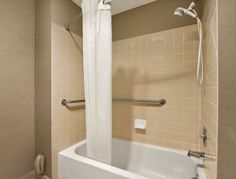 ADA Bathroom at the Days Inn Auburn in Auburn, Washington