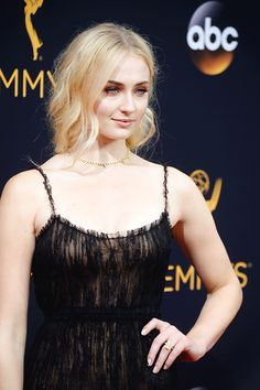 Sophie Turner attends the 68th Annual Primetime Emmy Awards