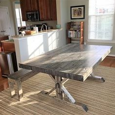 Rustic Farmhouse Industrial Conference Tables And Desks by Jeremy Lesser