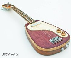 HiGuitarsUK Raindrop Solid Body Electric Tenor Ukulele.