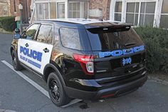 Picture Of Village Of Mamaroneck New York Police Department Brand New Car 310 - 2013 Ford Explorer Police Interceptor. Photo taken Saturday January 19, 2013.    IMG9880