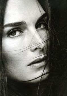 brooke shields. She is easily one of the most beautiful women in the world. What's even nicer is that she seems humble and true to herself.