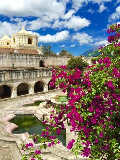 Antigua, Guatemala - One of the most beautiful Spanish cities in all of Guatemala, Antigua, is downright magical with cobblestoned streets and pastel colored walls. PointsandTravel.com