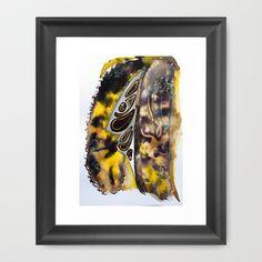 Leaf Alive Framed Art Print by crismanart
