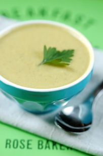 Green Bean and Almond Soup, made with almond flour
