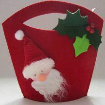 Felt+Cloth Santa