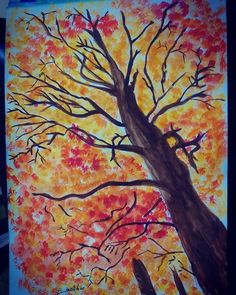 #trees #tree #watercolour #paint #painting #drawings #pinceldrawing #mixing #colors #color #art #watercolor #artcontest #illustration #illustrations #nature #wild