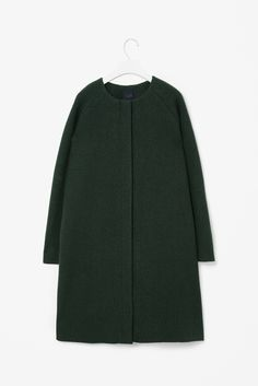 Wool A-line coat, COS