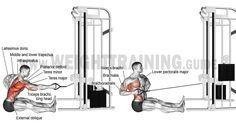 Comment effectuer les tirages verticales unilatérale à la poulie ?