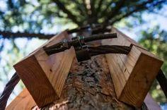 Treehouse attachment - non intrusive treehouse attachment.