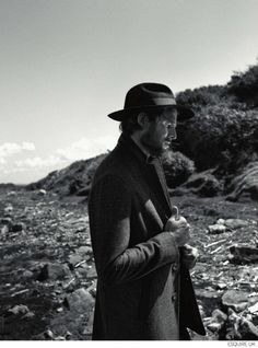 Noah Huntley Explores Outdoors in Fall Fashions for Esquire UK September 2014 Issue