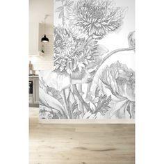 Engraved Flowers 338 Wall Mural by KEK Amsterdam - Modern Wallpaper, Of Wallpaper, Pattern Wallpaper, Wallpaper Ideas, Wall Design, House Design, Design Design, Design Trends, Flower Mural