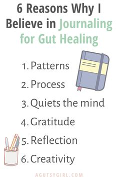 Journaling for Gut Healing 6 reasons why agutsygirl.com #guthealth #bujo #journaling Bullet Journal Format, Bullet Journal Inspo, Girls Bible, Body Fluid, Achieving Goals, Live Happy, Gut Health, Ibs, Wisdom Quotes