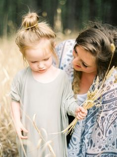 Mother & Daughter | Toronto Family Photographer | Fine Art Film | Contax 645
