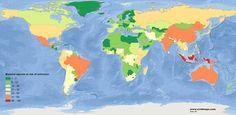 Mammal species at risk of extinction