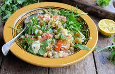 Minted Haloumi Salad