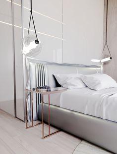 Petite, Precious & Pastel Home Interior (Interior Design Ideas) Chic Master Bedroom, Modern Bedroom Decor, Large Bedroom, Apartment Projects, Apartment Interior, Home Interior, Interior Design, Futuristisches Design, House Design