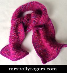 Click here to DIY this Velvet trimmed Scarf.  Easy and pretty.  PERFECT GIFT!  Blog & Video from MrsPollyRogers.com