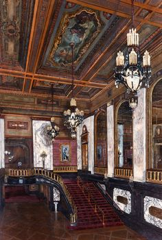 Shea's Performing Arts Center, Acrylic Painting by Daniel Predmore. On permanent display in the historic theater.  Buffalo, NY