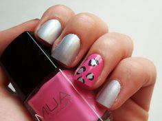 Pink Leopard, My Nails, Nail Polish, Chic, Beauty, Shabby Chic, Elegant, Nail Polishes, Polish