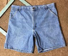 Carhartt Mens Size 42 Shorts Denim Jean Jorts Stonewashed B29 STW #Carhartt #Denim