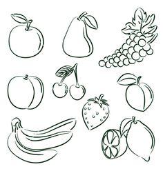 doodle fruit
