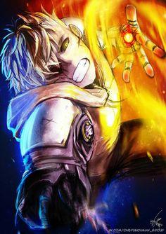 #Genos_the_Demon_Cyborg