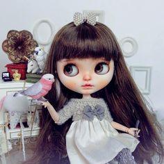 (๑ ˙˘˙)/{Good morning  #Blythe #Blythedoll #customBlythe #noisedoll #Blythecustom #doll