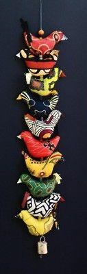 String of birds