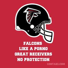 Atlanta Falcons- Established in 1966 Falcons Football, Football Helmets, Football Talk, Atlanta Falcons Memes, Team Slogans, Football Slogans, Helmet Logo, Nfl Logo, Cross Paintings