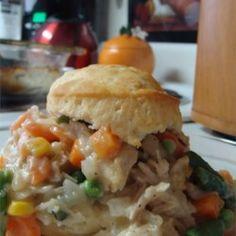 Chicken Biscuit Pie - Allrecipes.com