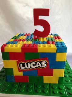 Lego cake (2604) | by Asweetdesign