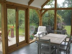 Oak framed sun room