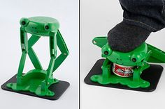 a can crusher? What? lol  Odd Kitchen Gadgets | of the Strangest Kitchen Gadgets Ever - TechEBlog