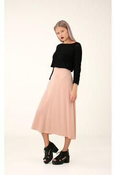 Pink Midi Skirt, S / Annaliina Pink Midi Skirt, Tulle, Skirts, Collection, Women, Fashion, Moda, Fashion Styles, Skirt