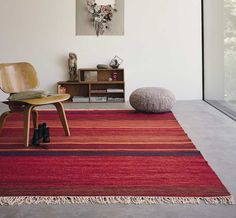 Kashba - Delight 48100 Red Rugs | Modern Rugs