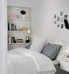 Inspiring Homes: Alvhem in Linnéstaden | Nordic Days #bedroom #white