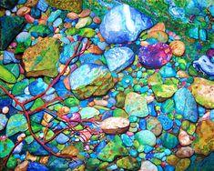 Contemporary Watercolor Artists | Original, Contemporary Art paintings from contemporary artist Liana ...