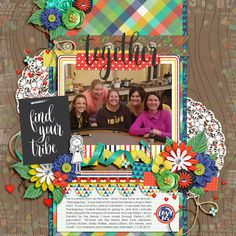 Template: Brook Magee - Scrap Your Stories - Birthday Duo Kit: Amanda Yi, Two Tiny Turtles & WendyP Designs - Family Tree