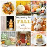 31 Days of Fall Inspiration: Decorating for Fall with Pumpkins